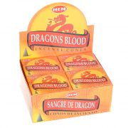 Dragons Blood wierook kegels